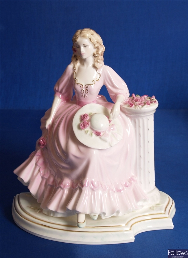 A Coalport figurine 'May Queen', from the English