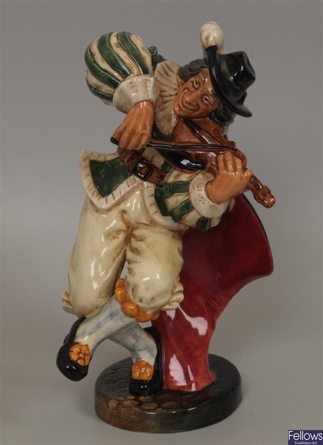 A Royal Doulton figurine 'The Fiddler' HN 2171,