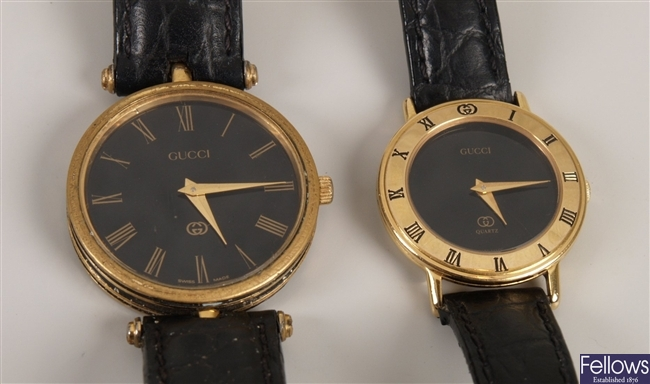 GUCCI - a gentleman's gold plated battery