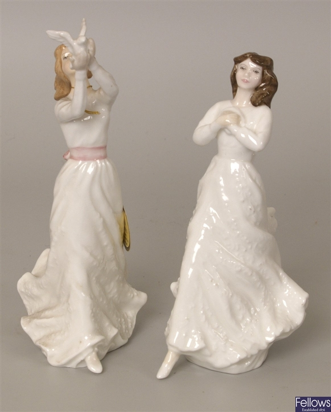 A Royal Doulton figure Thinking of You hn 3490,