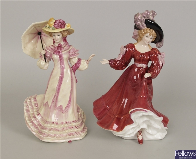 A Royal Doulton figure Patricia hn 3365, together