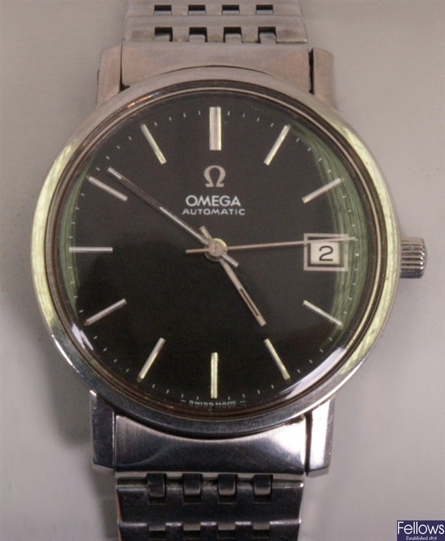 OMEGA - a gentleman's automatic stainless steel