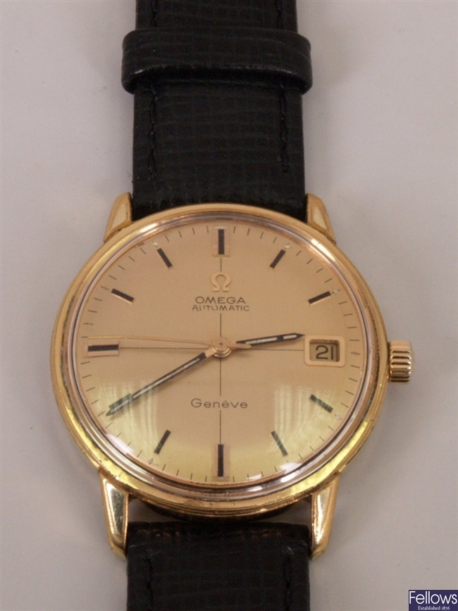 OMEGA - A gentleman's gold plated Geneve