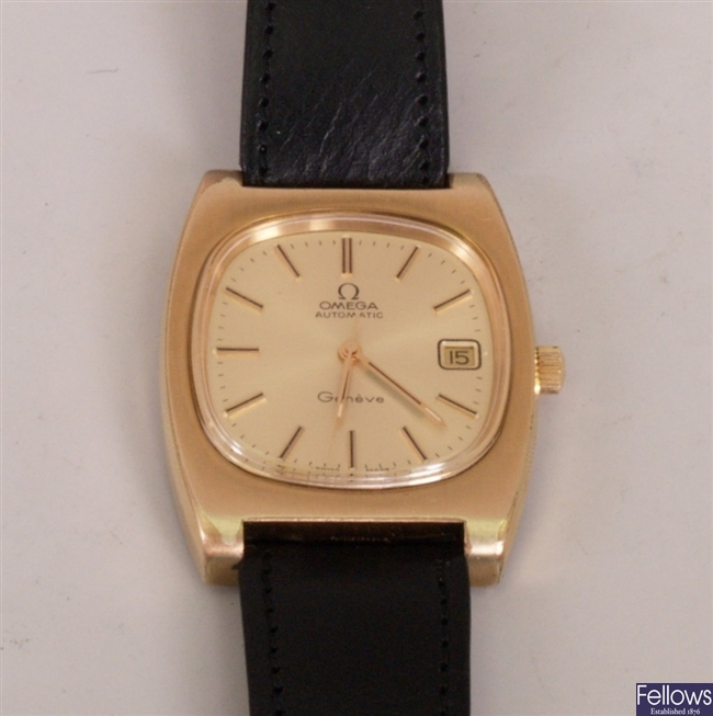 OMEGA - a gentleman's gold plated automatic wrist