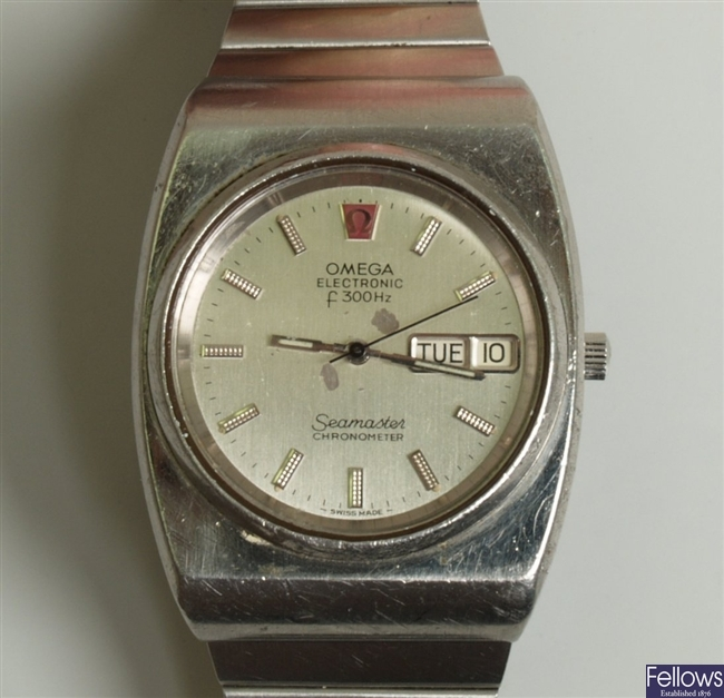 OMEGA - a gentleman's electronic f300hz Seamaster