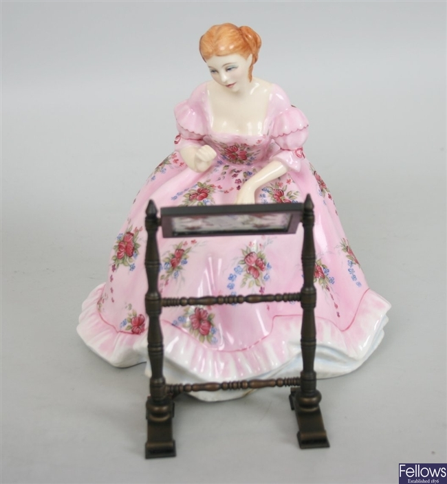 A Royal Doulton figure from the gentle Arts