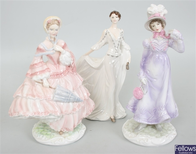 Three Compton and Woodhouse Royal Worcester