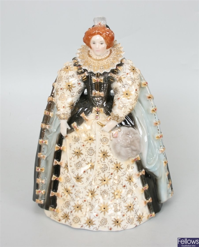 A Compton and Woodhouse Royal Worcester figurine