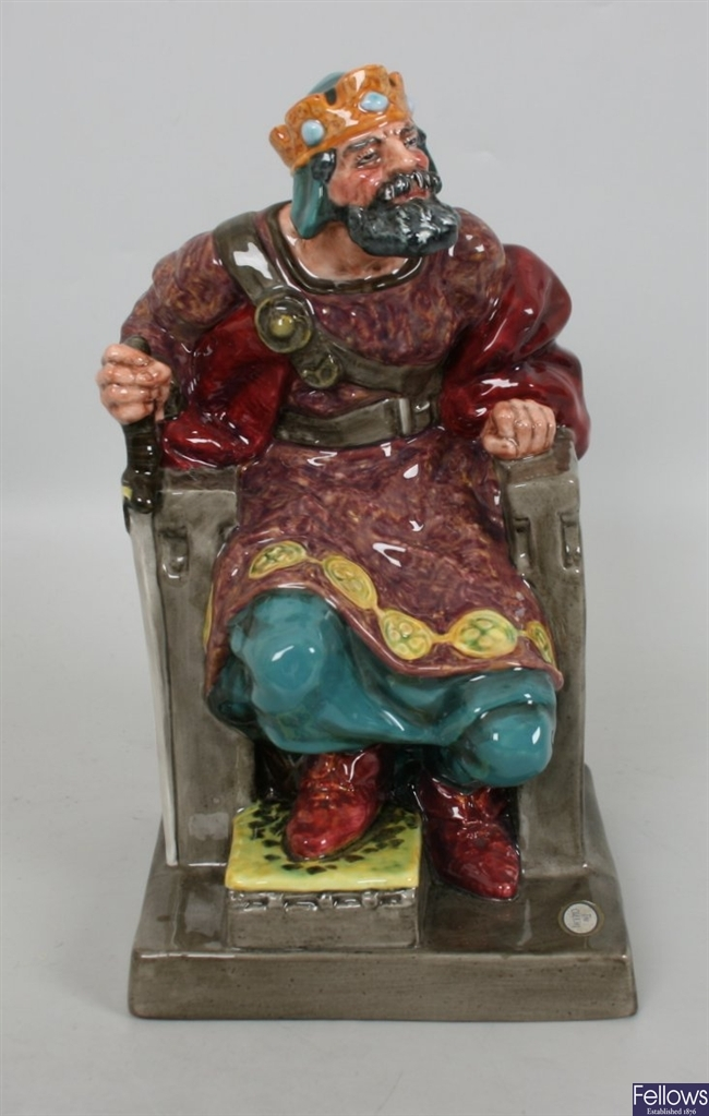 A large Royal Doulton figurine 'The Old King'