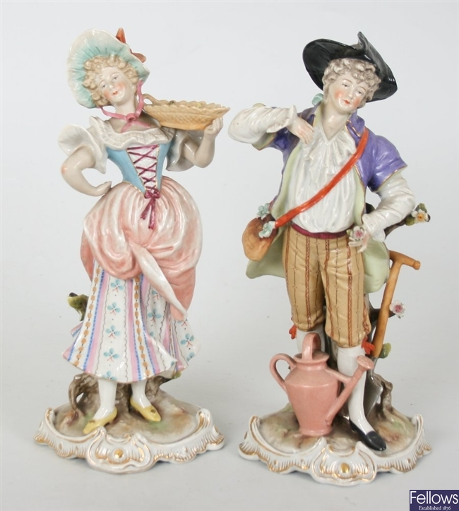 A pair of attractive late 19th century