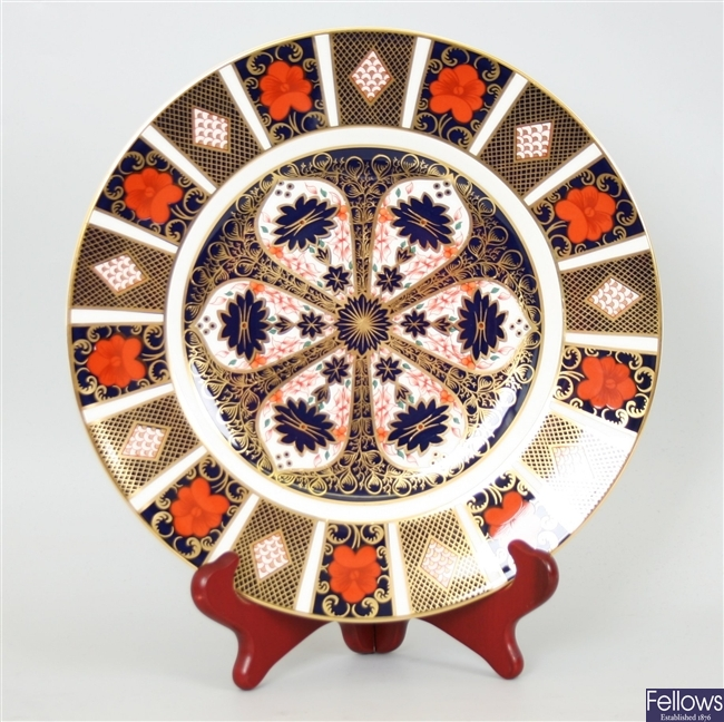 A set of six Royal Crown Derby 'Old Imari'