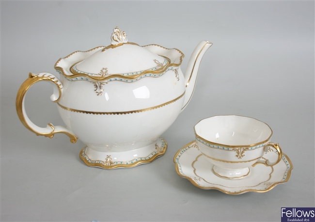A Royal Crown Derby 'Lombardy' pattern bone china