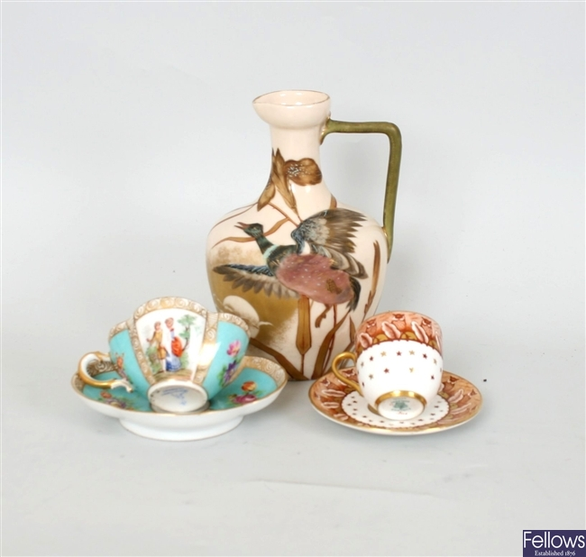 A small collection of Royal Worcester porcelain,