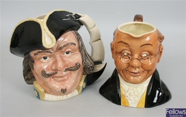 A Royal Doulton character jug 'Captain Henry