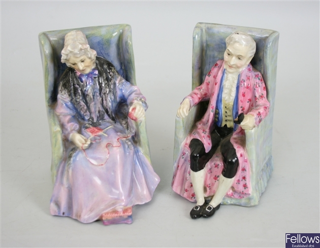 A Royal Doulton figure 'Darby' HN 1427, together