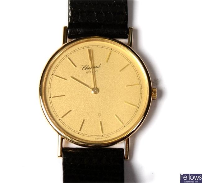 CHOPARD - a quartz gentleman's watch, Swiss