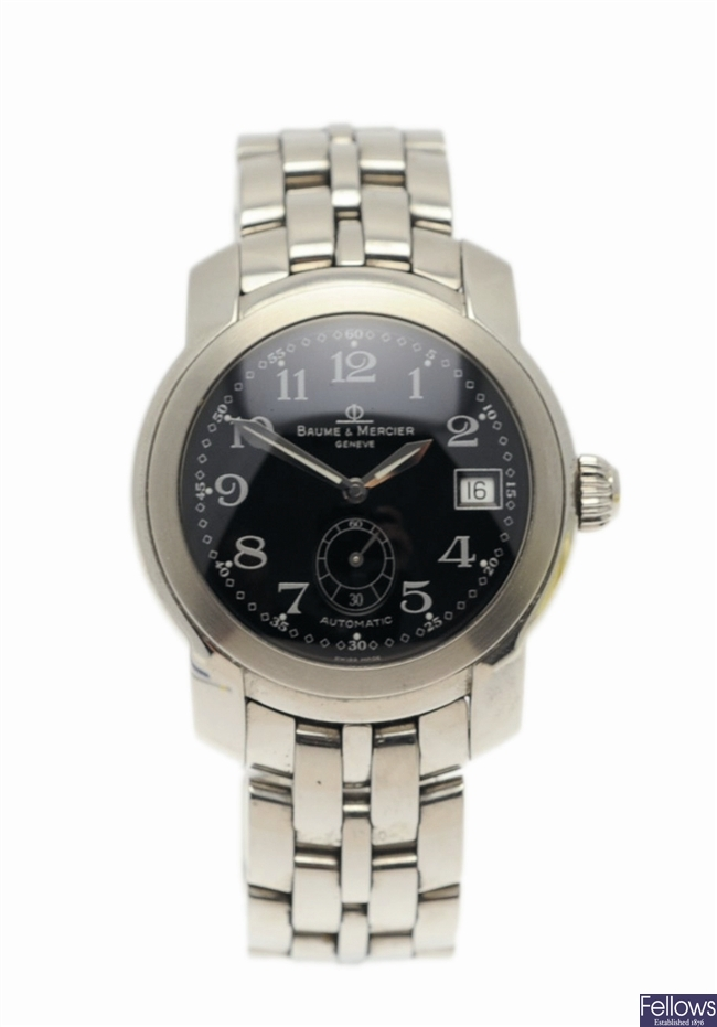BAUME & MERCIER - a stainless steel automatic