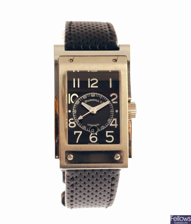 DUNHILL - a stainless steel automatic gentleman's