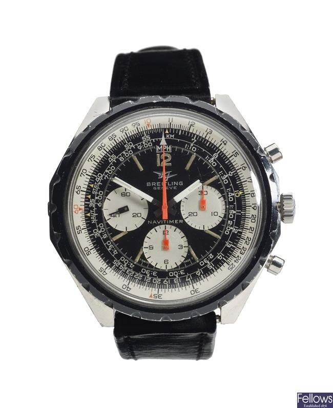 BREITLING - a stainless steel manual wind