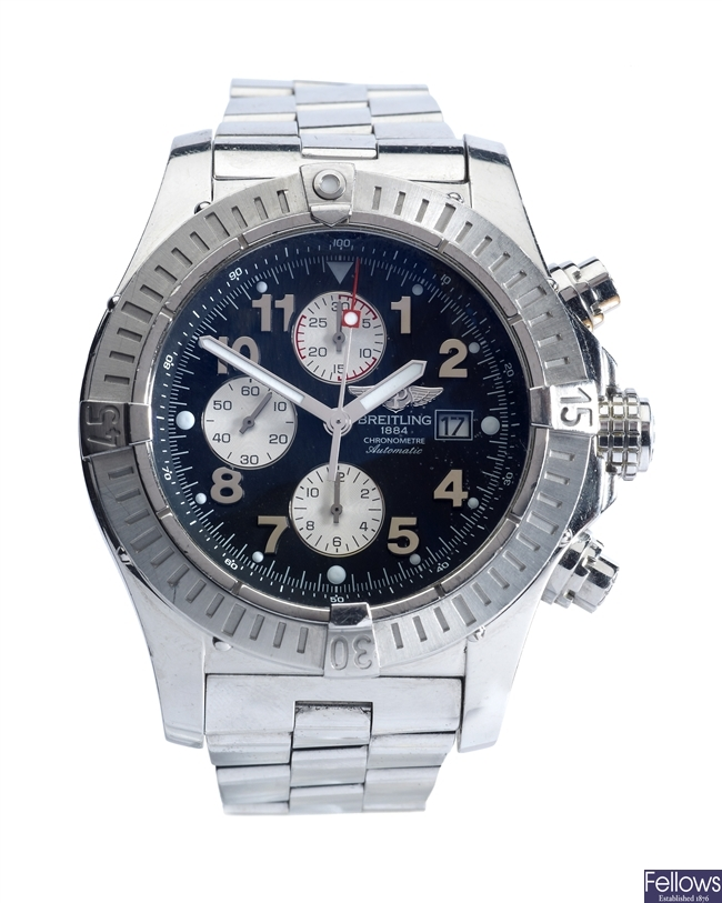 BREITLING - a stainless steel automatic