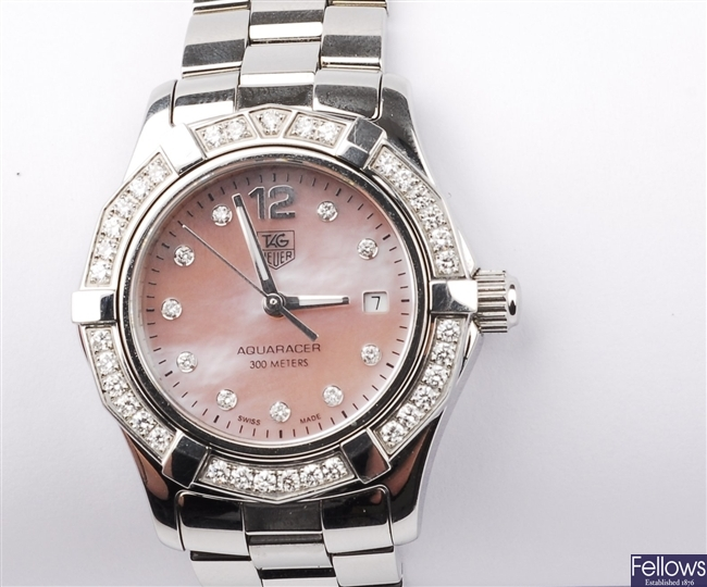 (24598) Tag Heuer - Lady's stainless steel