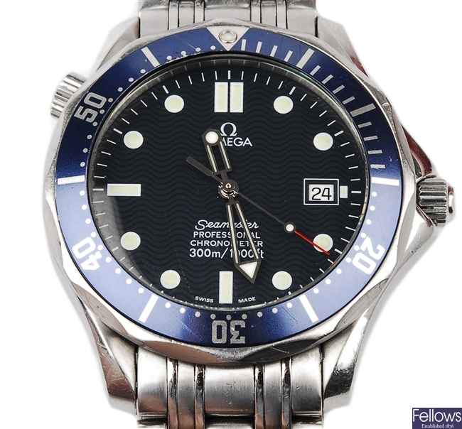 OMEGA - a stainless steel gentleman's automatic