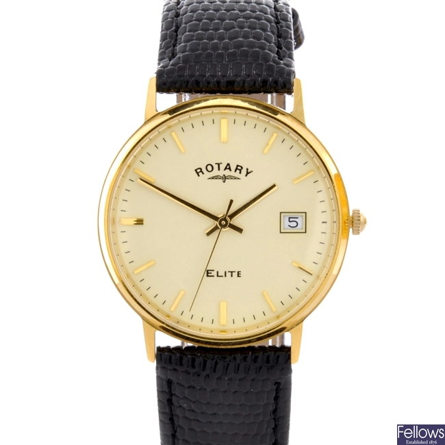 A Rotary gents watch.
