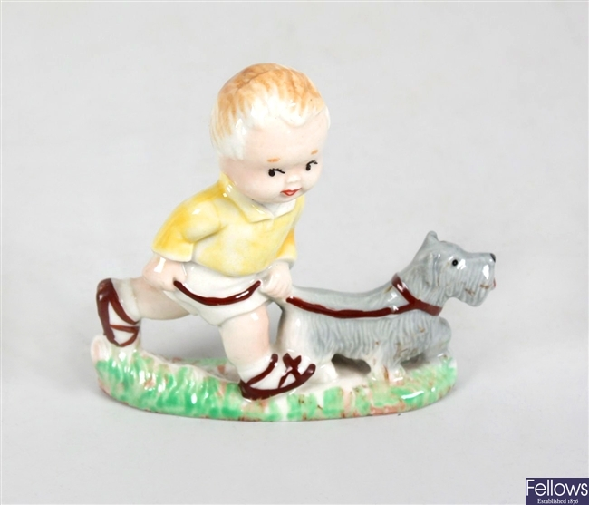 A Wade, Mabel Lucy Attwell figurine