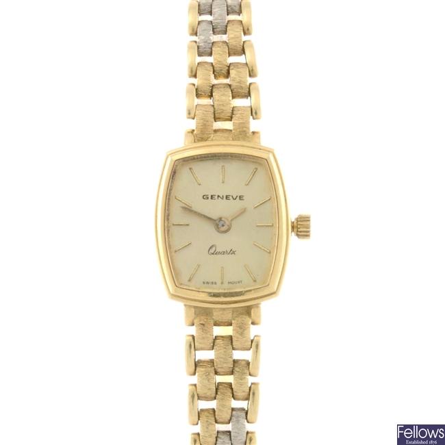 (504002909)  lady's 18ct wrist watch