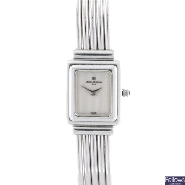 A lady's Michel Herbelin Bracelet watch