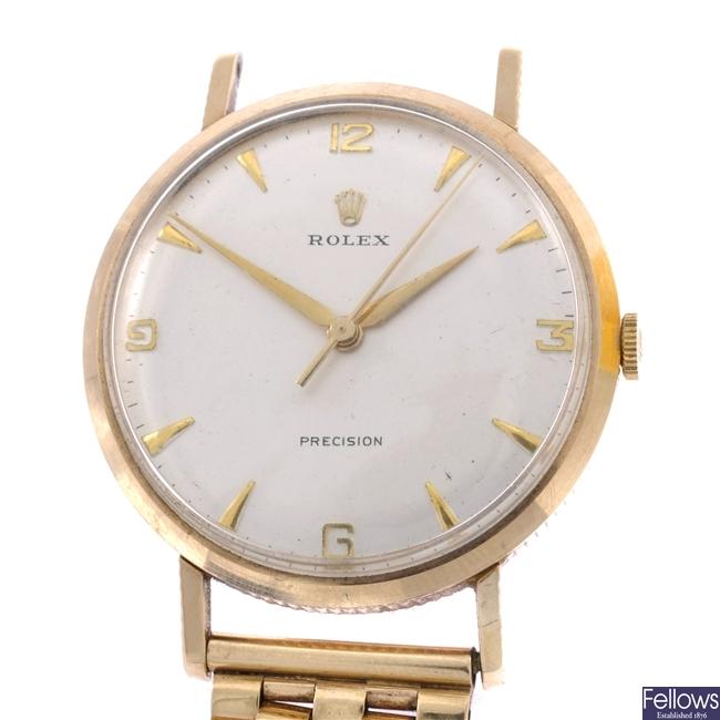 (104981753) gentleman's 9ct  wrist watch