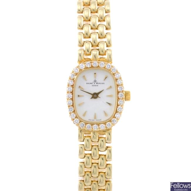 (134168789)  lady's 14ct wrist watch