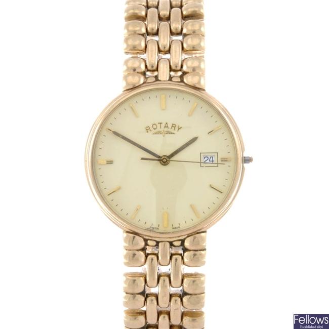 (311108803) gentleman's 9ct  wrist watch