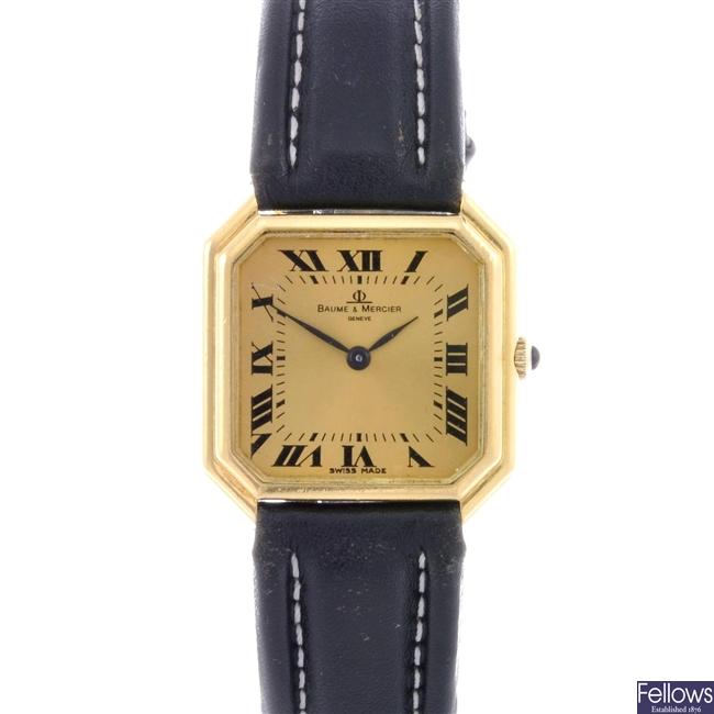 (307078914)  gentleman's 18ct wrist watch