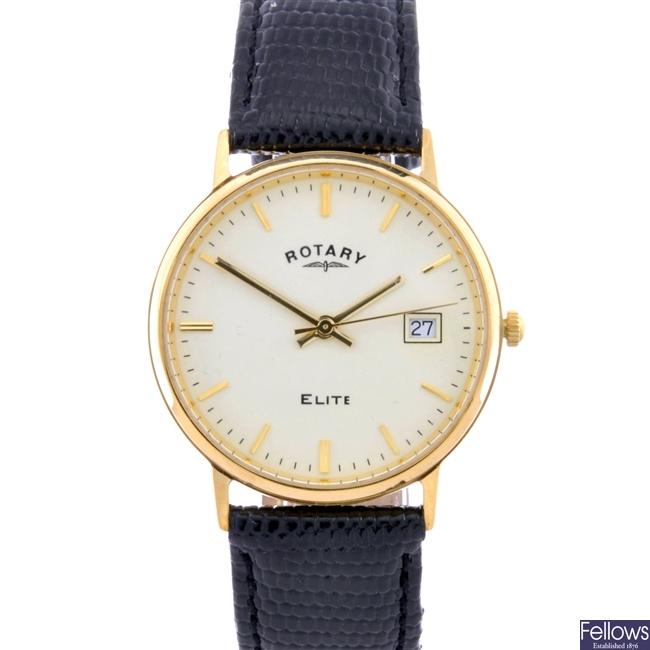 (307064504) gentleman's 9ct  wrist watch