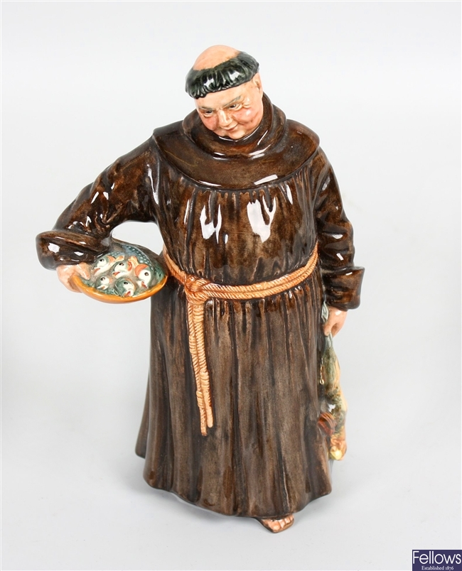 A Royal  Doulton figurine 'The Jovial Monk'