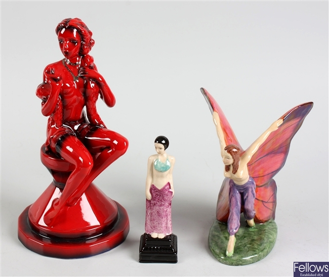 Kevin Francis collectors club ceramic figurine and similar figurines