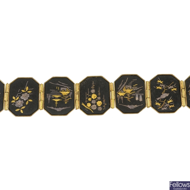 A Damascene bracelet.