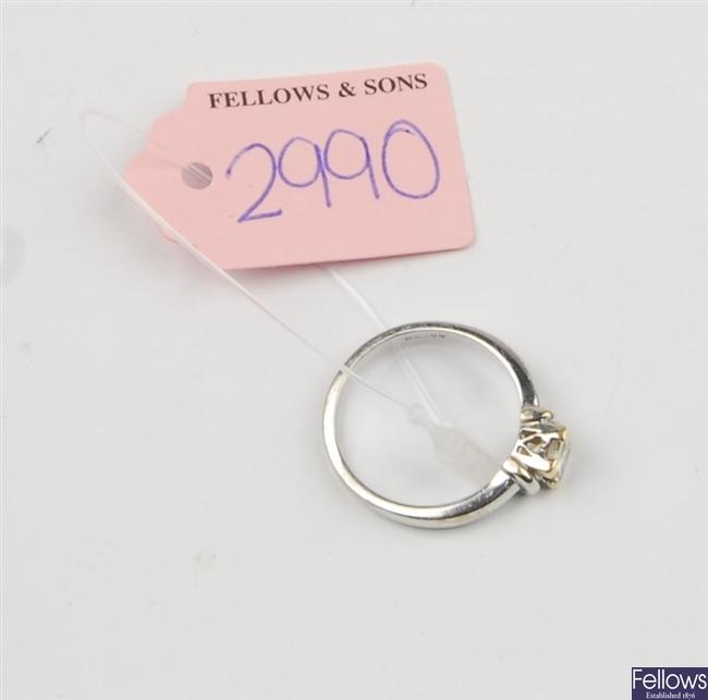 (307092035) ring single stone ring