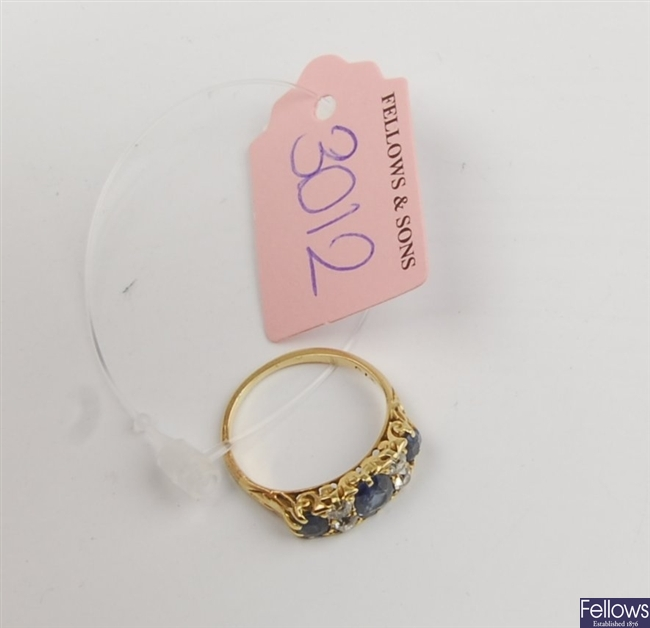 (307092690) 18ct eternity ring