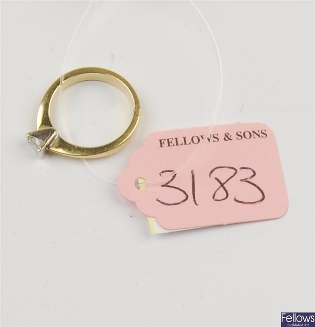 (602037647) ring single stone ring