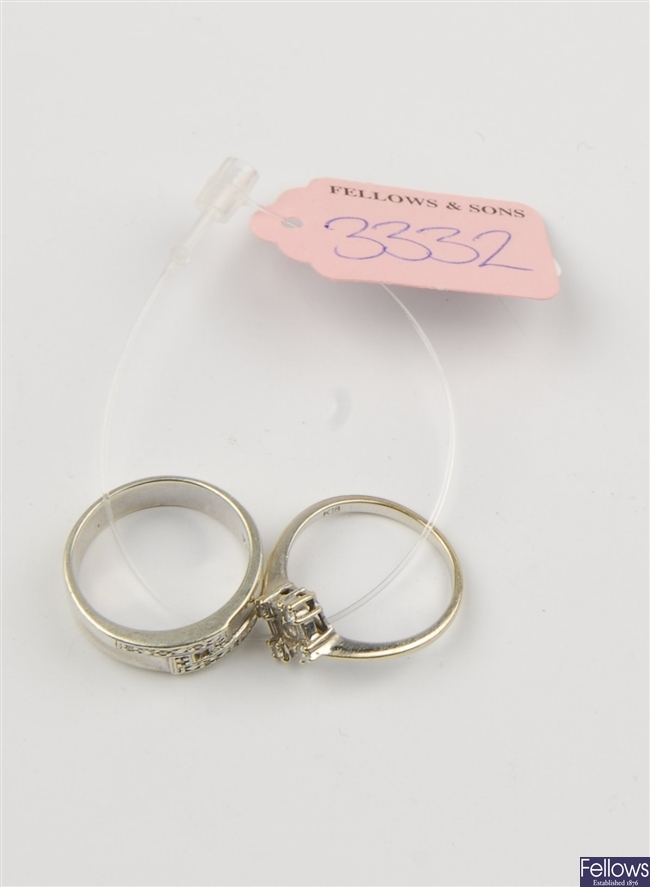 (220983602) two assorted rings