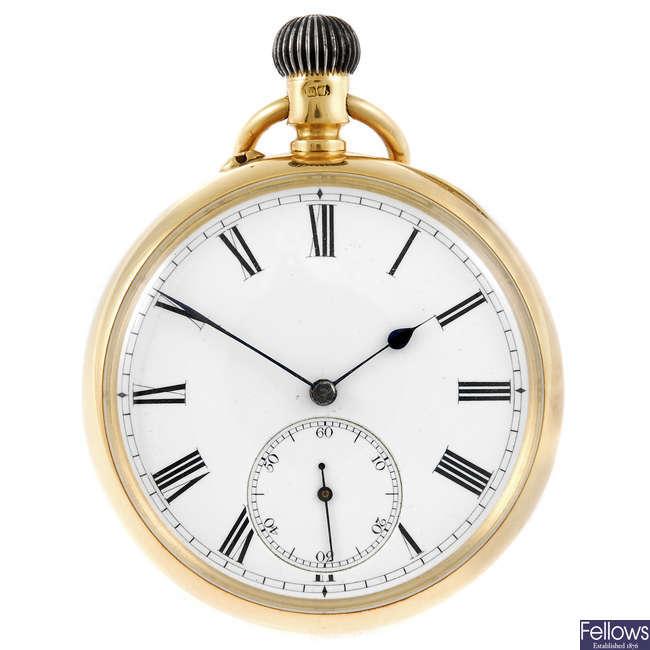An open face pocket watch by James Aitchison, Edinburgh.