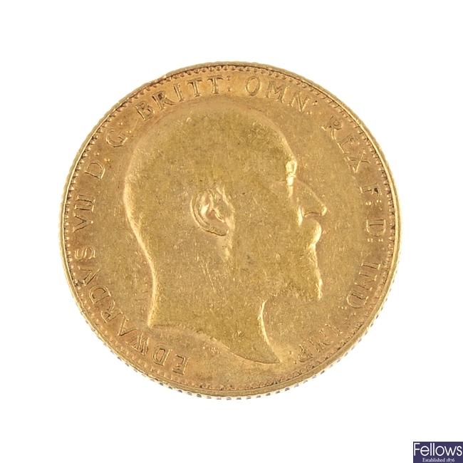 Edward VII, Sovereign 1906.
