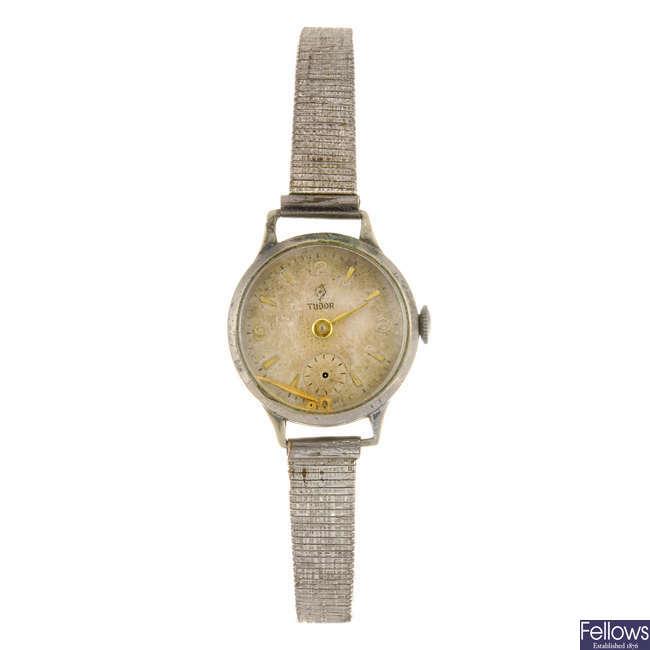TUDOR - a lady's bracelet watch with a Rotary bracelet watch.