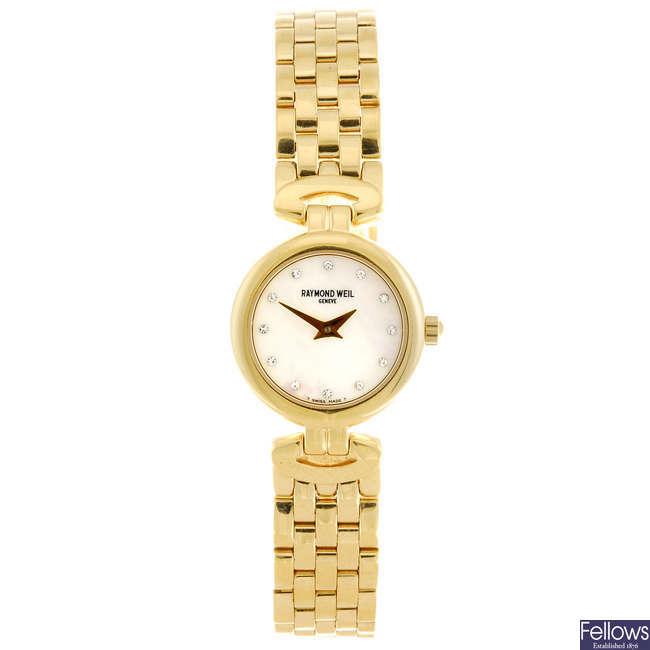 RAYMOND WEIL - a lady's bracelet watch.