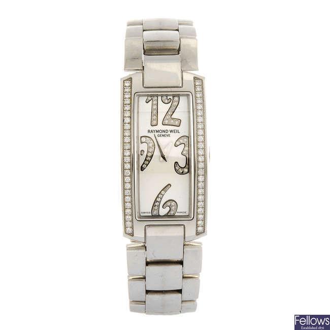 RAYMOND WEIL - a lady's Shine bracelet watch.
