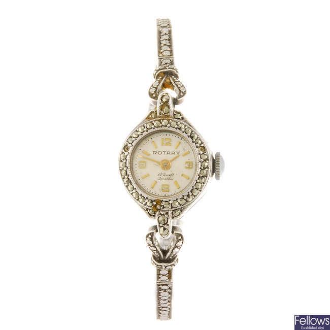 ROTARY - a lady's bracelet watch.