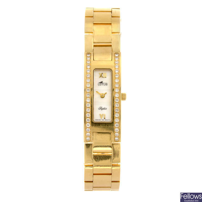 LOTUS - a lady's bracelet watch.