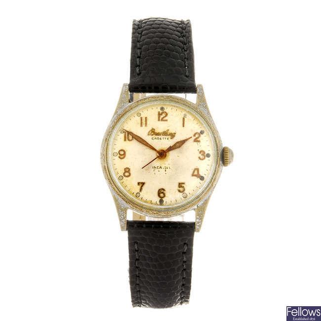 BREITLING - a Cadette wrist watch.